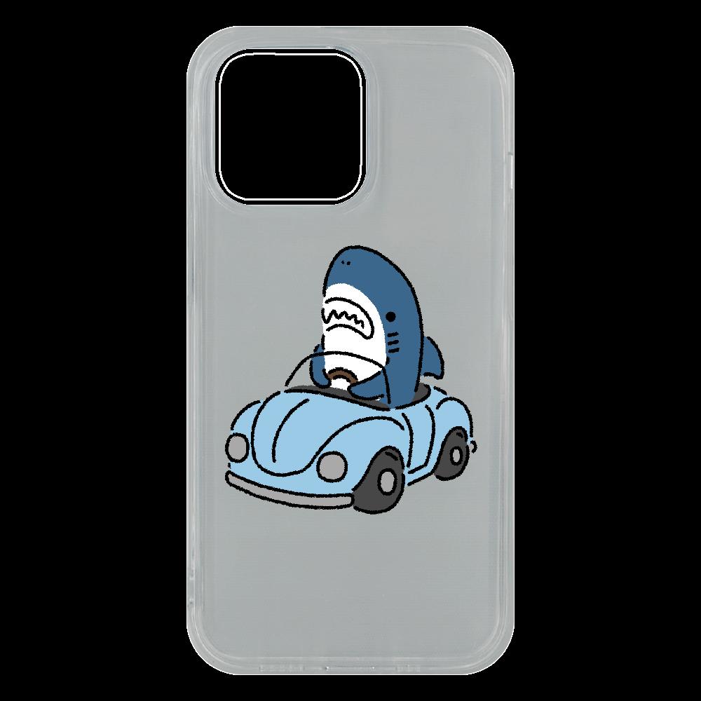 運転を覚えたサメ2021 iPhone13 Pro ソフトケース (TPU)