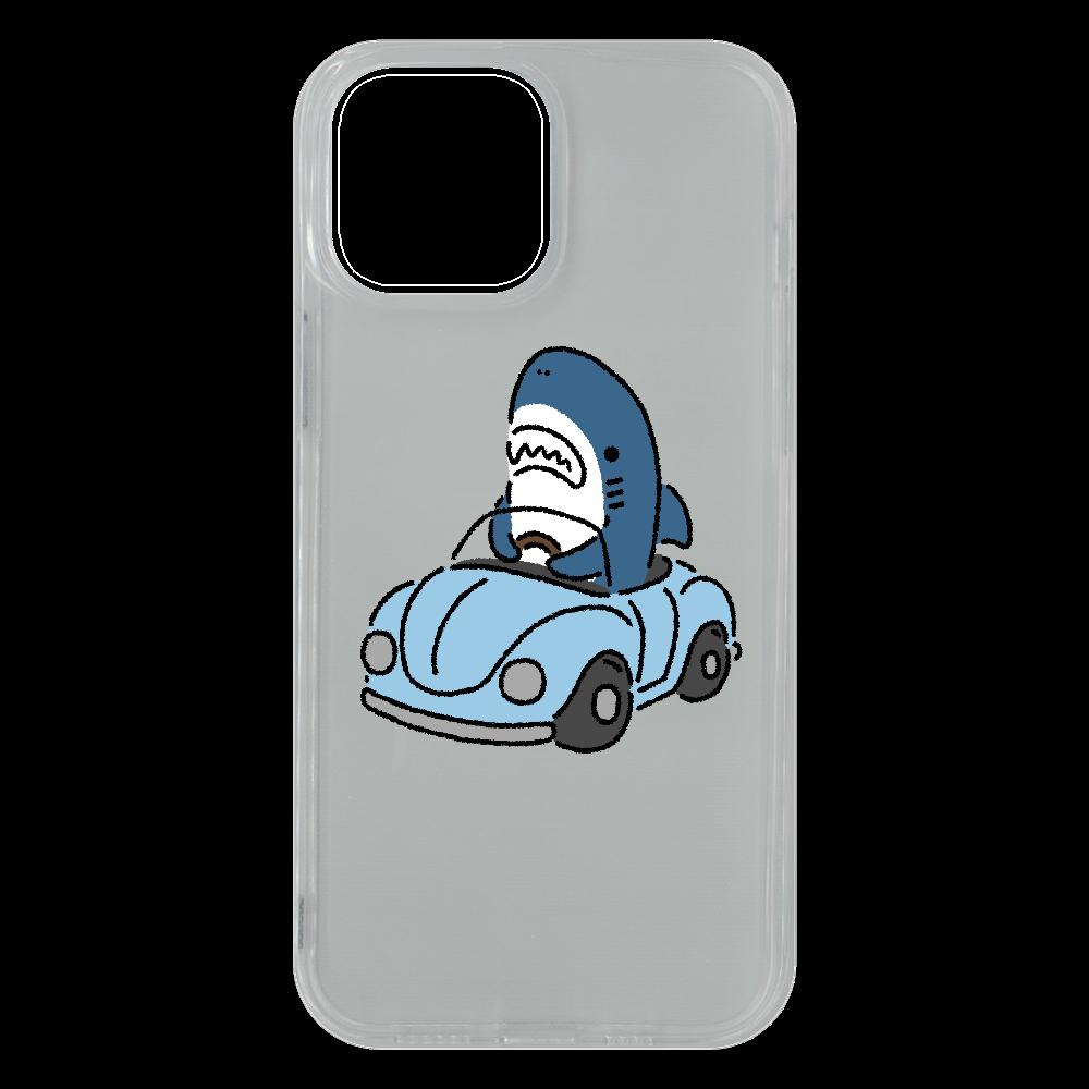 運転を覚えたサメ2021 iPhone13 Pro Max ソフトケース (TPU)