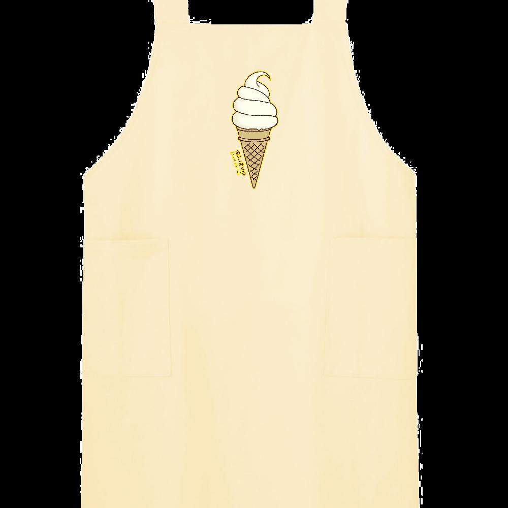 アイスクリーム(あいしみくる) H型エプロン