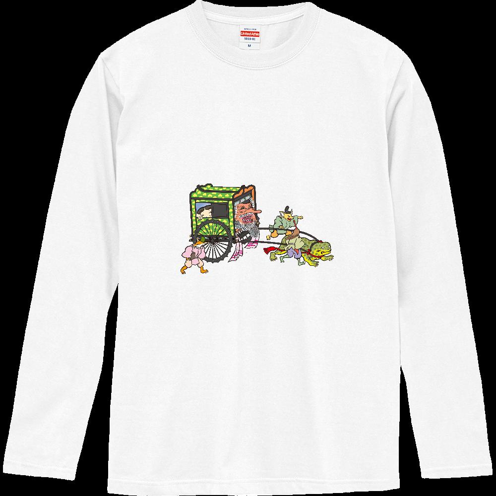 妖怪シリーズ、おぼろぐるま ロングスリーブTシャツ