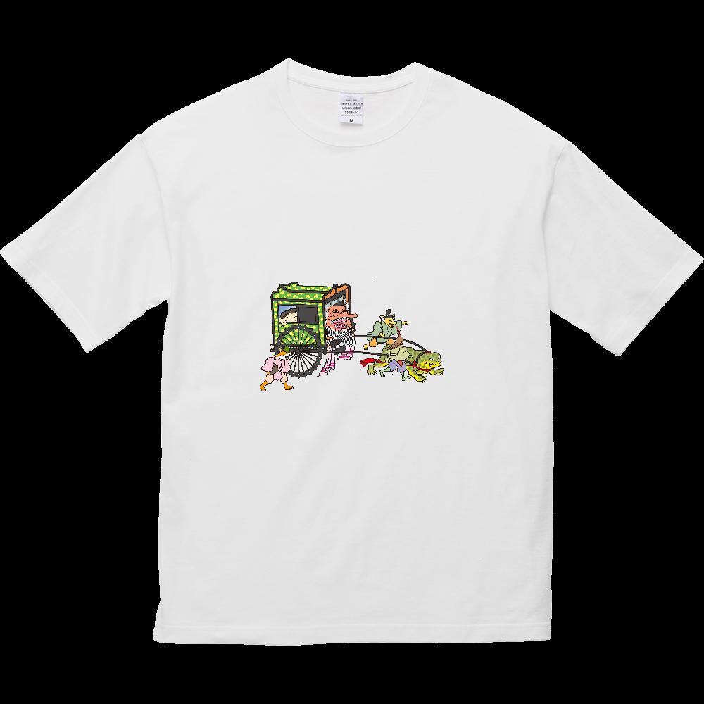 妖怪シリーズ、おぼろぐるま 5.6オンス ビッグシルエット Tシャツ