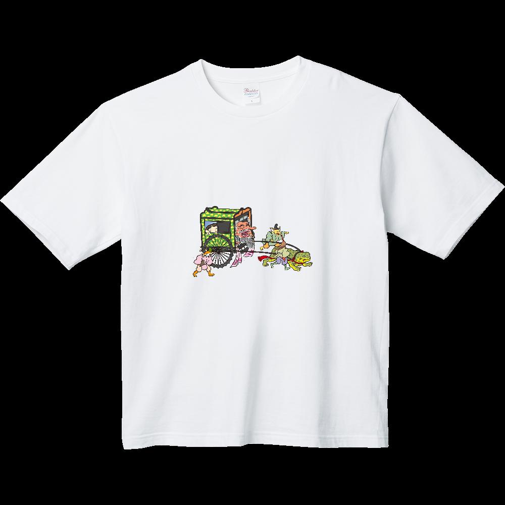 妖怪シリーズ、おぼろぐるま ヘビーウェイト ビッグシルエットTシャツ