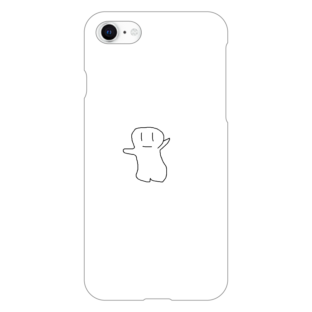 yurubake iphoneSE2(白)