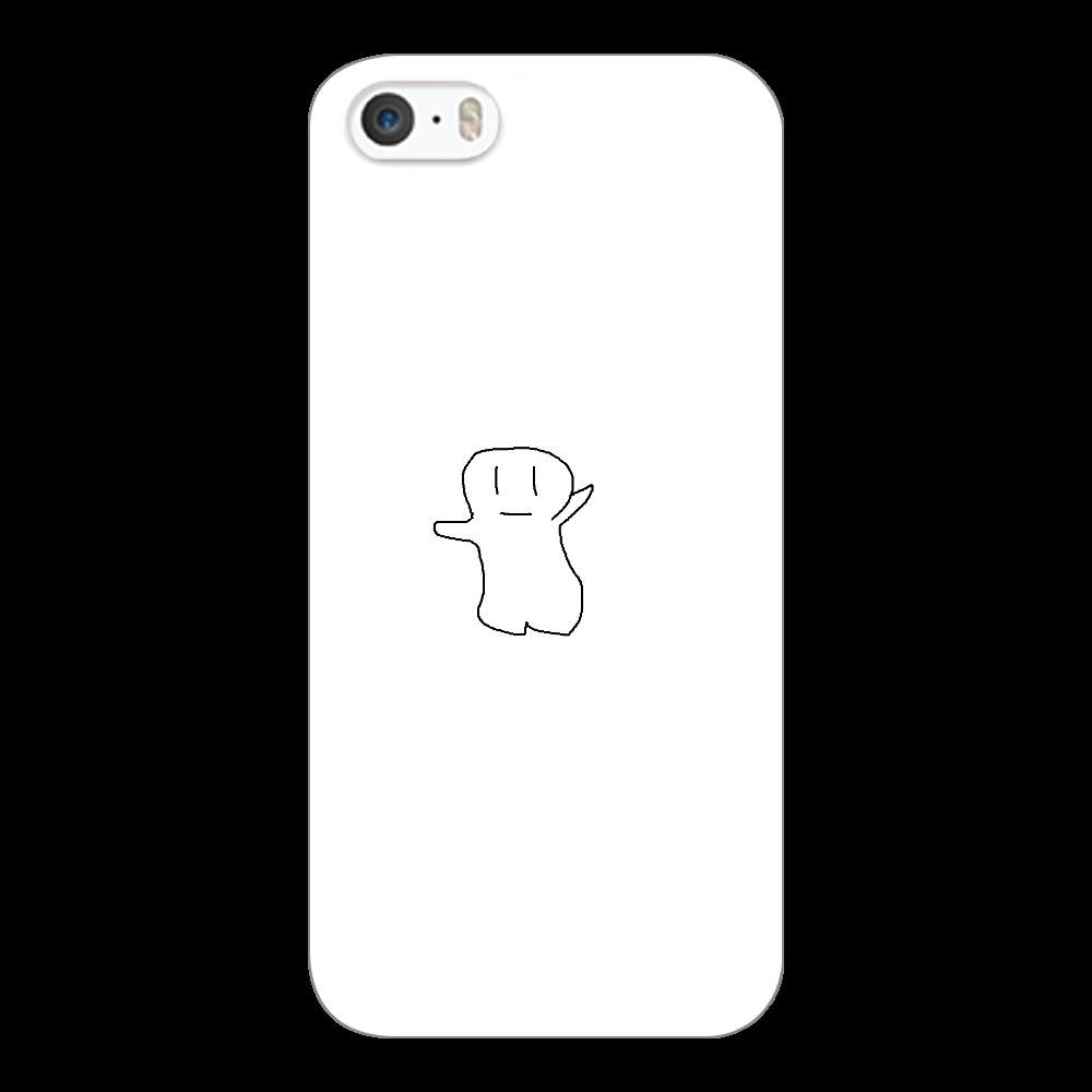 yurubake iPhone5/5s/SE(白)