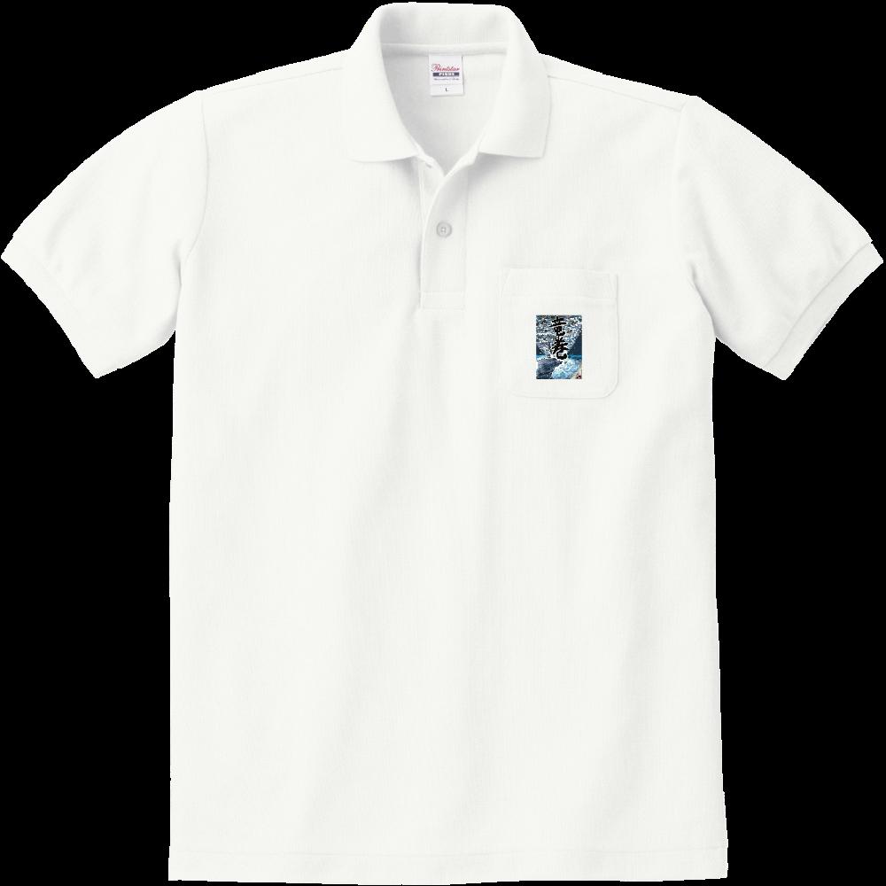 「竜巻」という名の気候変動 ORILAB MARKET.Version.2 定番ポロシャツ(ポケット付き)