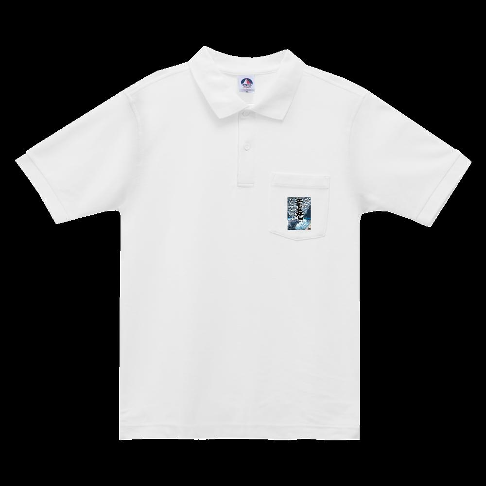 「竜巻」という名の気候変動 ORILAB MARKET.Version.2 ベーシックスタイルポロシャツ(ポケット付)
