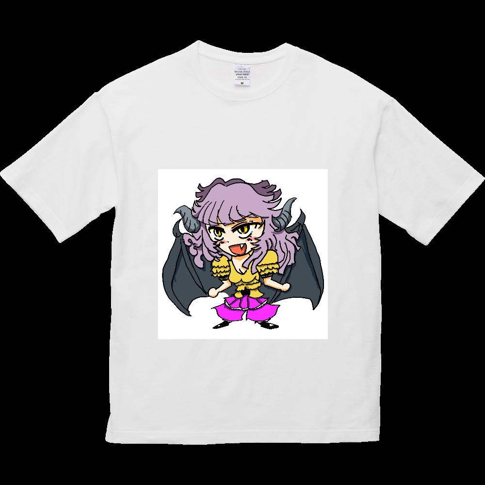 ラグナのイラスト2 5.6オンス ビッグシルエット Tシャツ