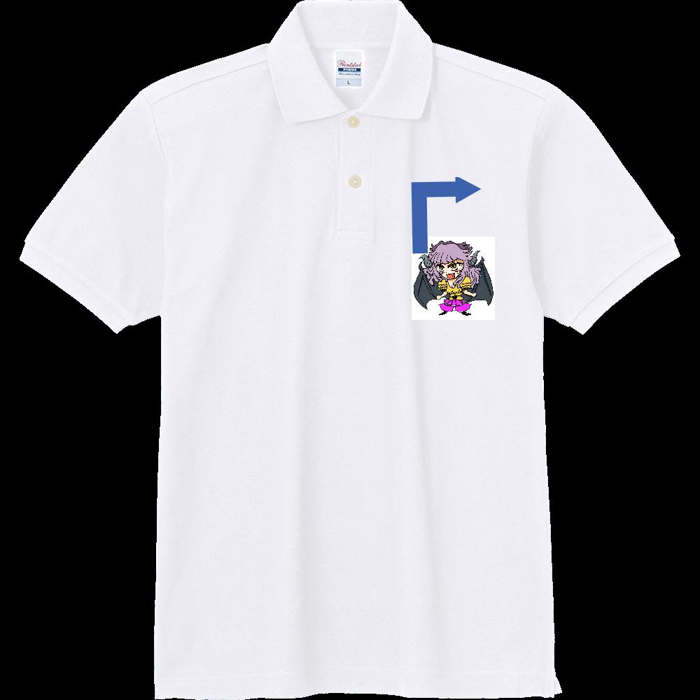 ラグナのイラスト2 定番ポロシャツ