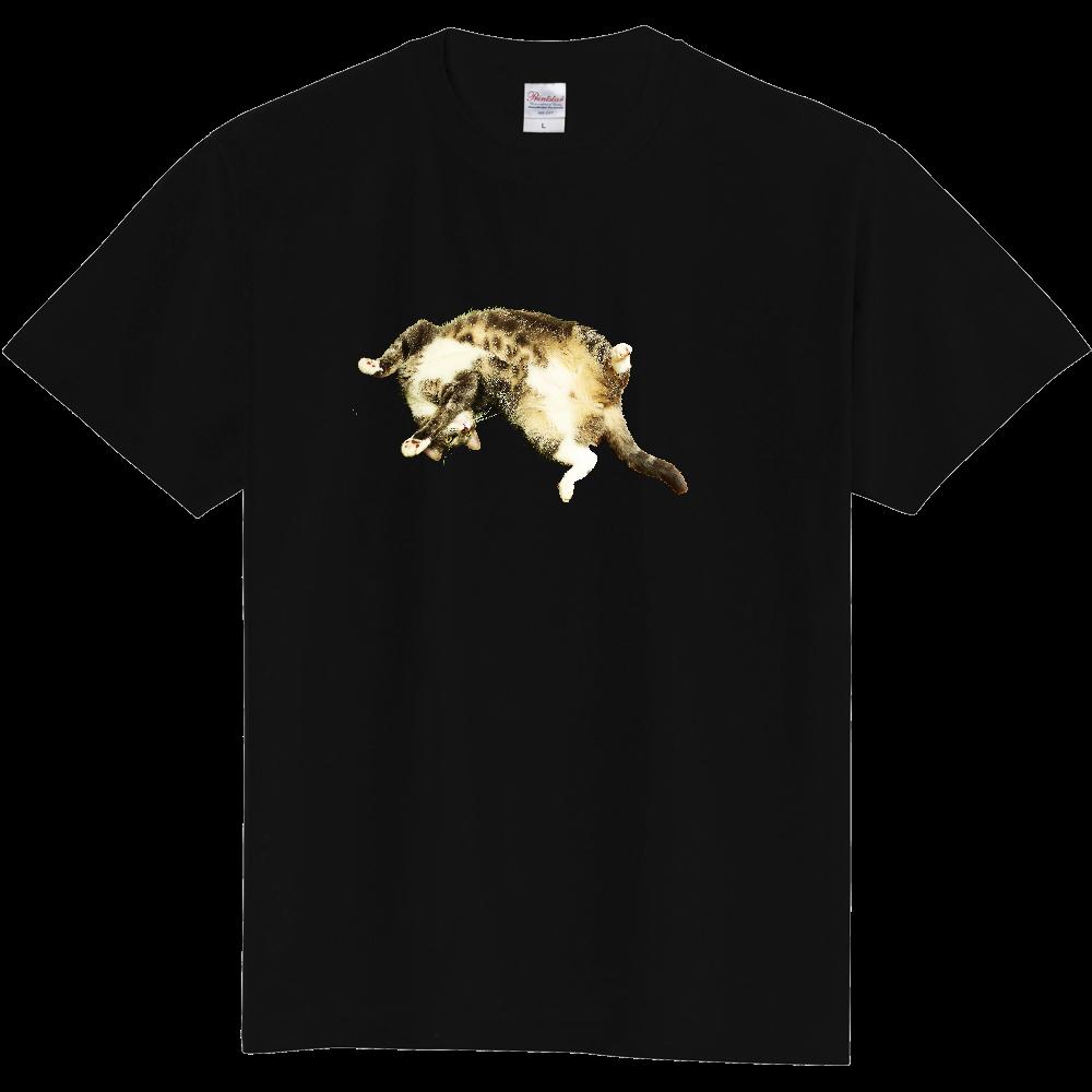 へそ天ねこ 定番Tシャツ