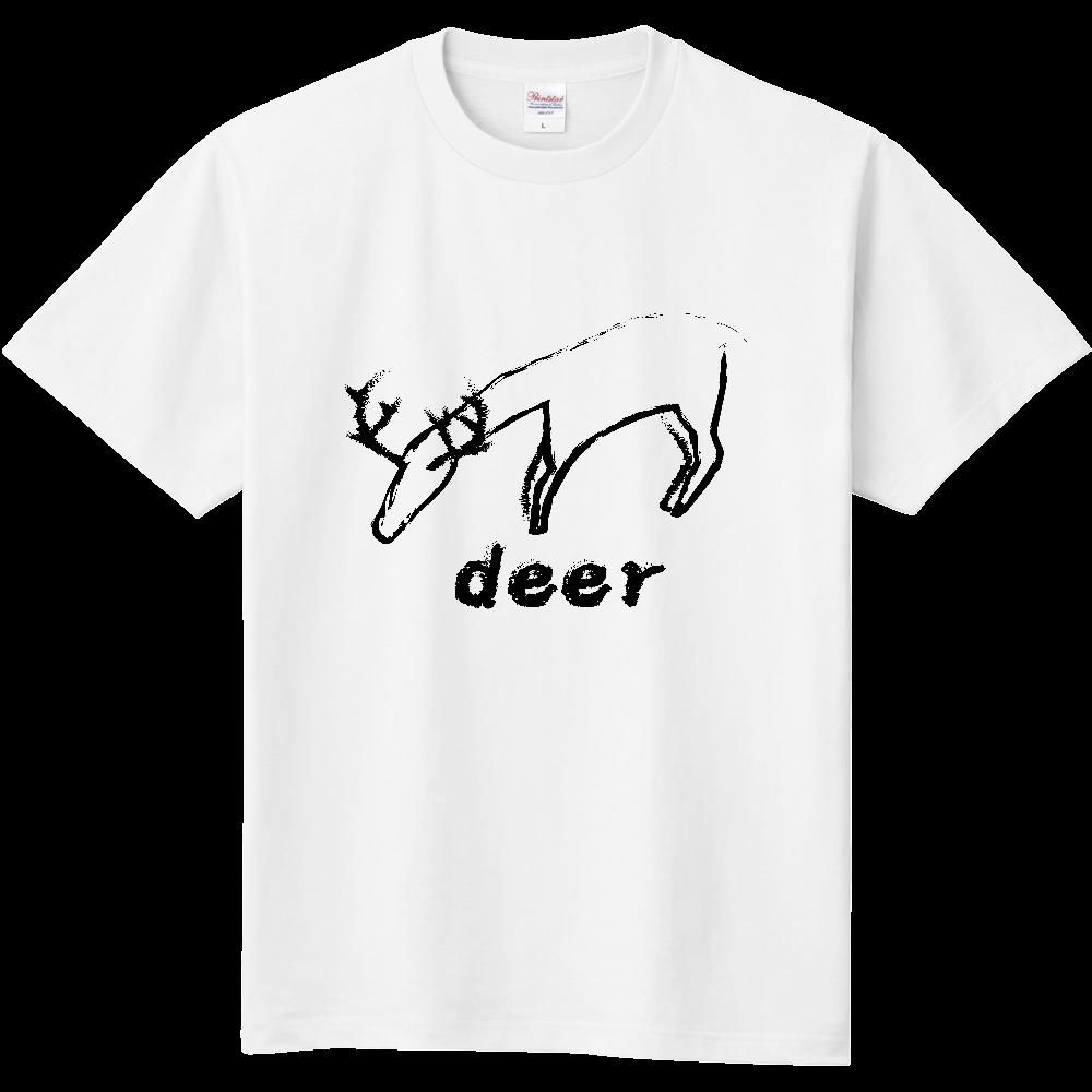 deer(鹿) 定番Tシャツ