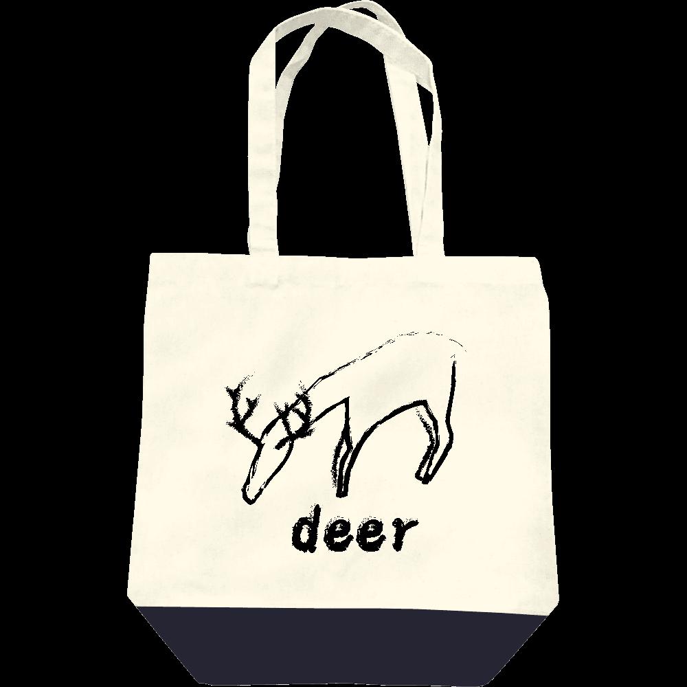 deer(鹿) レギュラーキャンバストートバッグ(M)