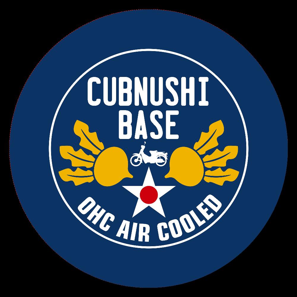 CUBNUSHI BASE カブ主ベース  44㎜缶バッジ