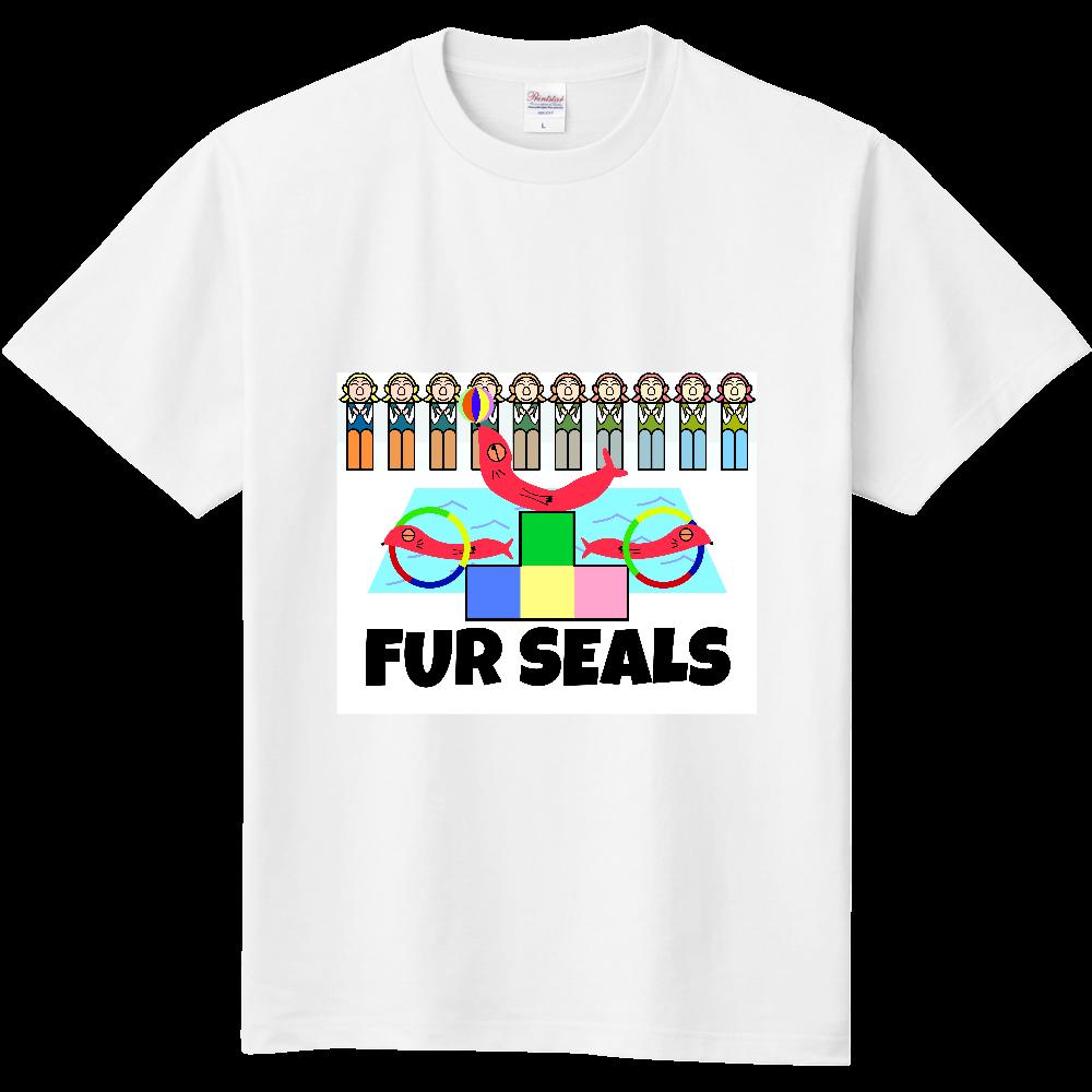 ねむいオットセイ 定番Tシャツ