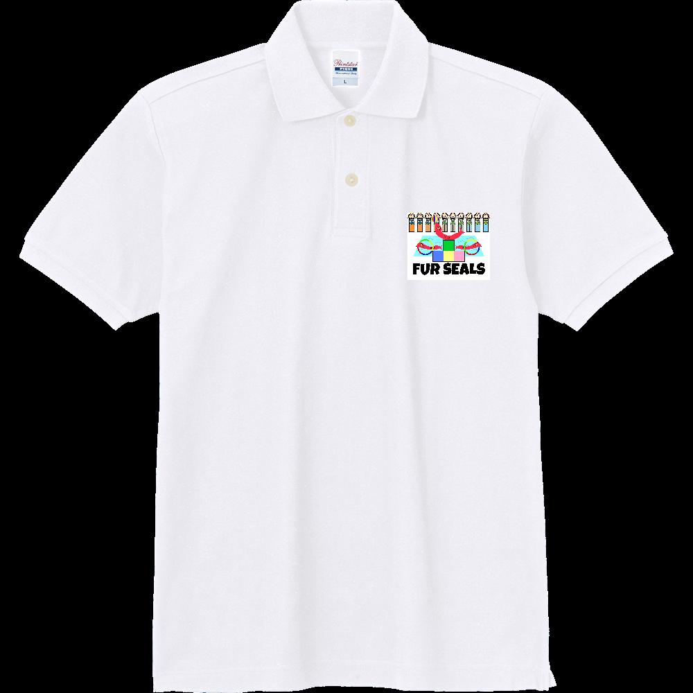 ねむいオットセイ 定番ポロシャツ
