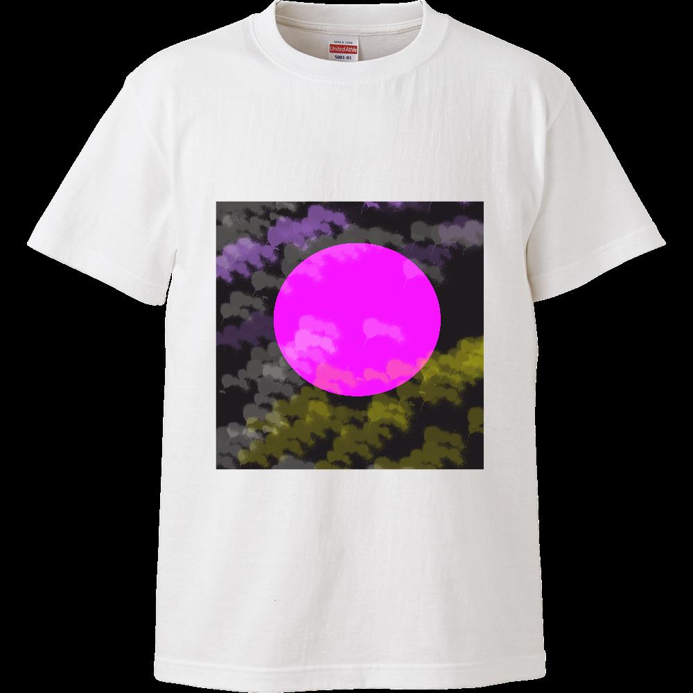 今宵の月 ハイクオリティーTシャツ