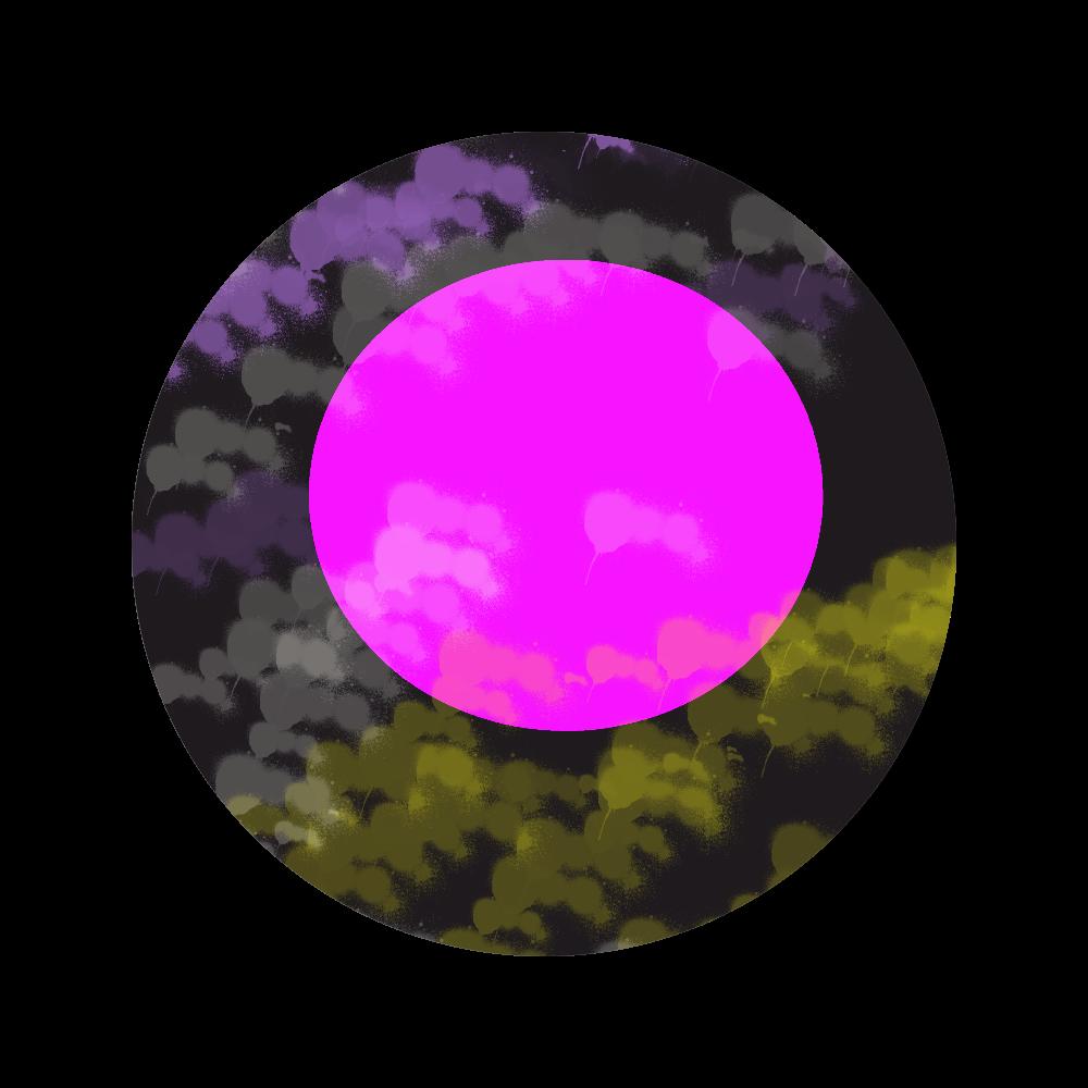 今宵の月 56㎜缶バッジ