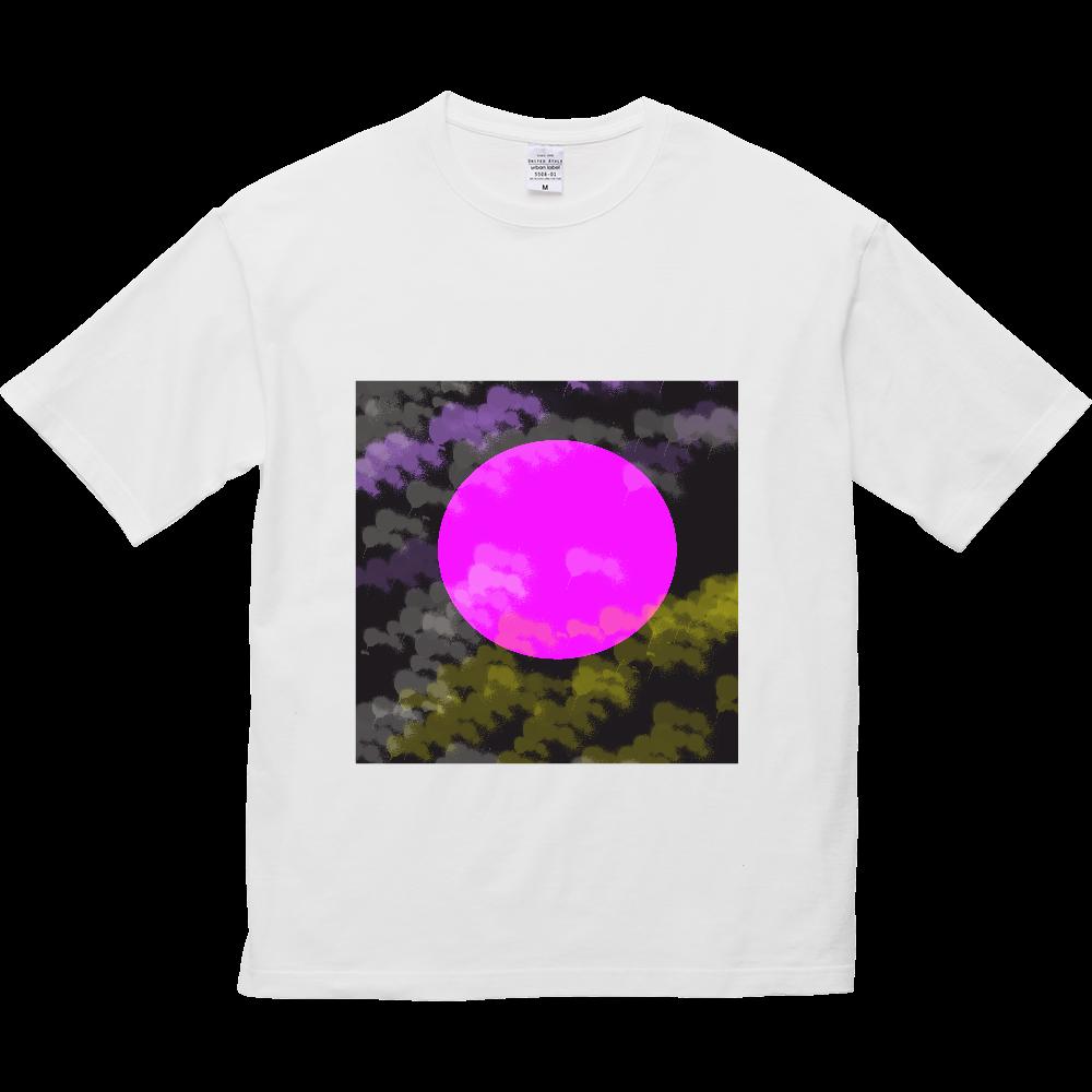 今宵の月 5.6オンス ビッグシルエット Tシャツ