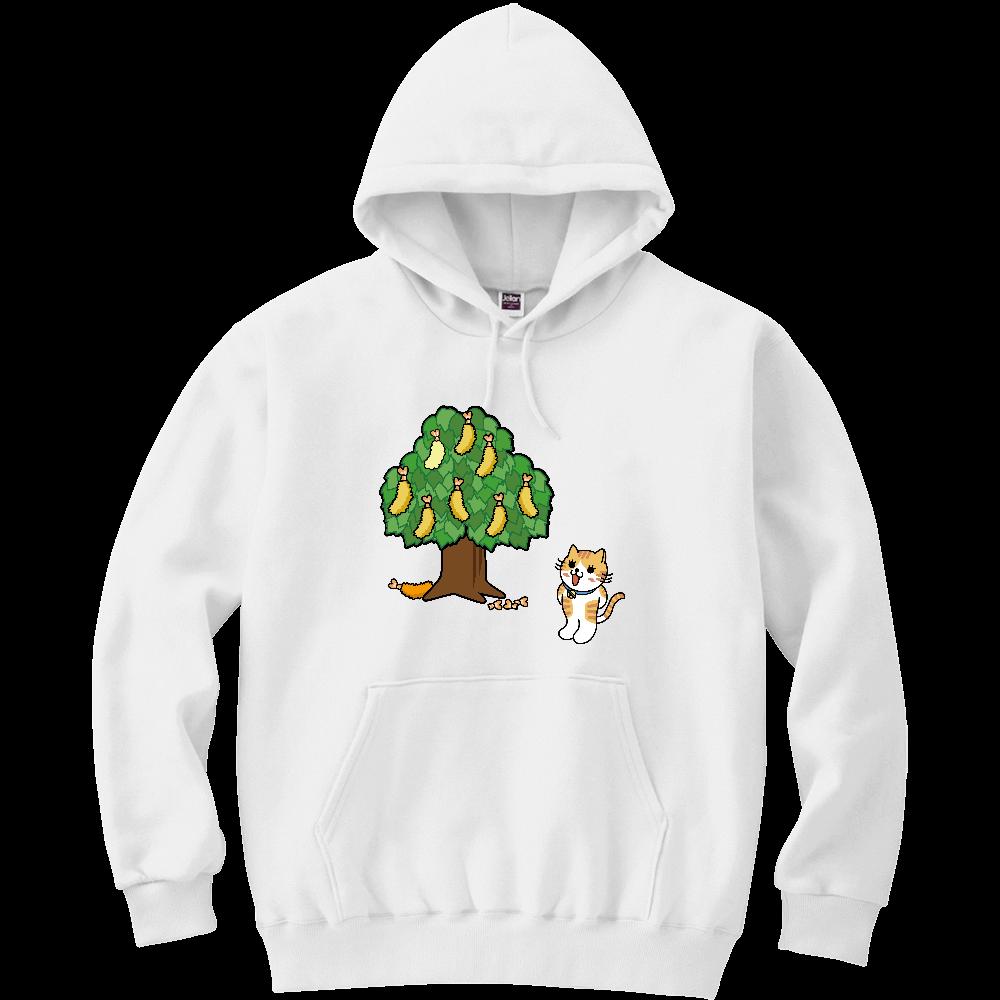 エビフライの木 軽量プルパーカー (長袖プリント)