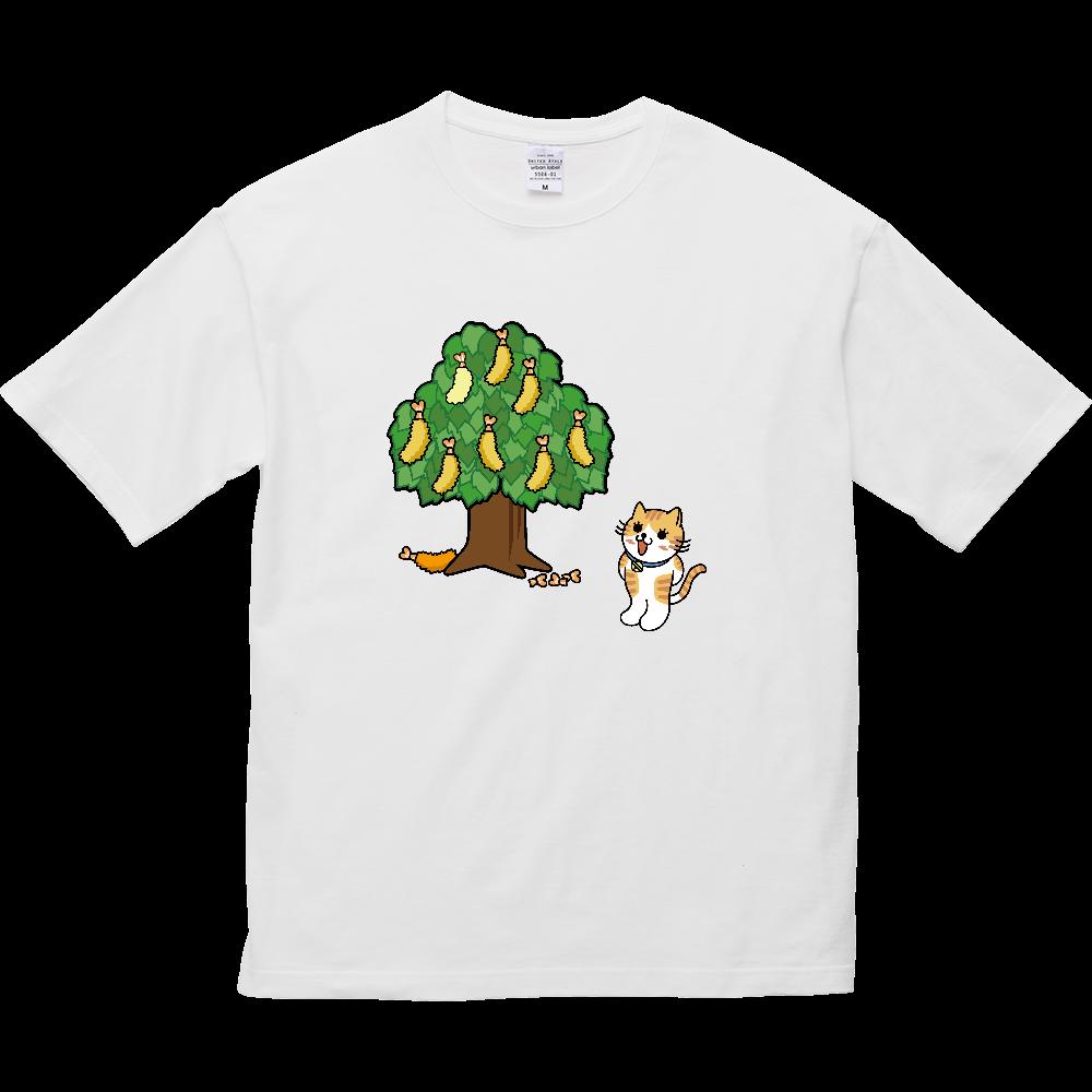 エビフライの木 5.6オンス ビッグシルエット Tシャツ