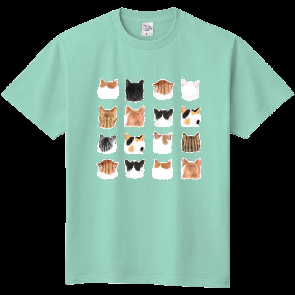 ねこあたまコレクション~思わずなでたい後頭部 定番Tシャツ