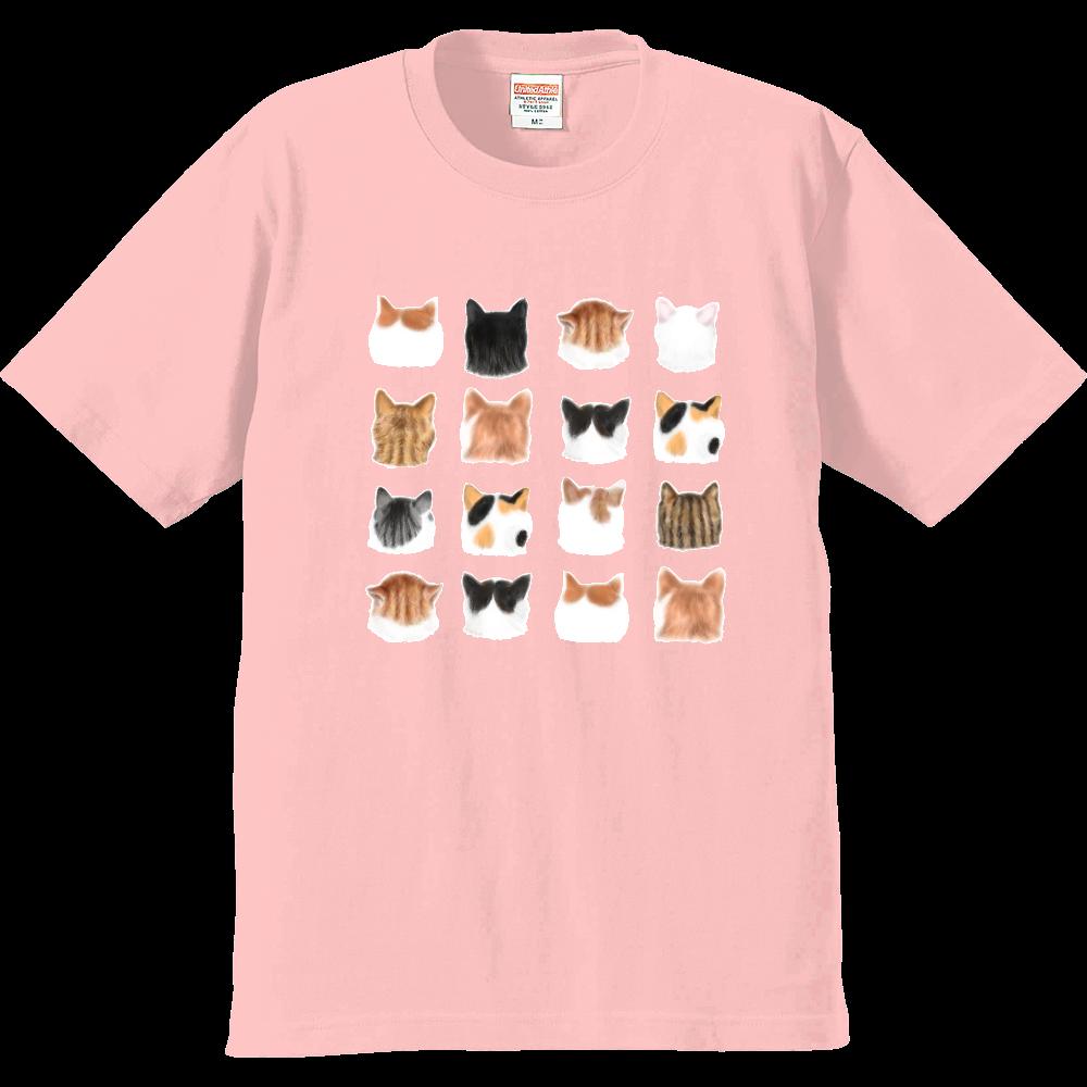 ねこあたまコレクション~思わずなでたい後頭部 プレミアムTシャツ