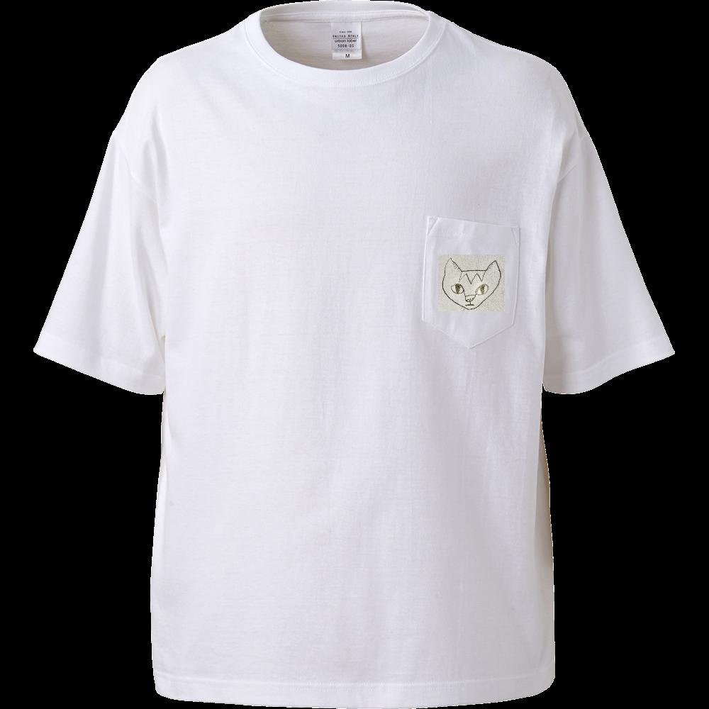 シンガプーラ ビッグシルエットTシャツ(ポケット付)