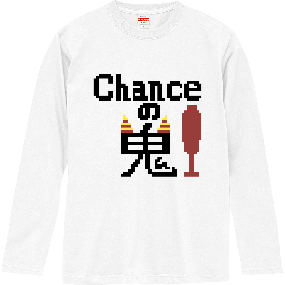 Chanceの鬼! ロングスリーブTシャツ