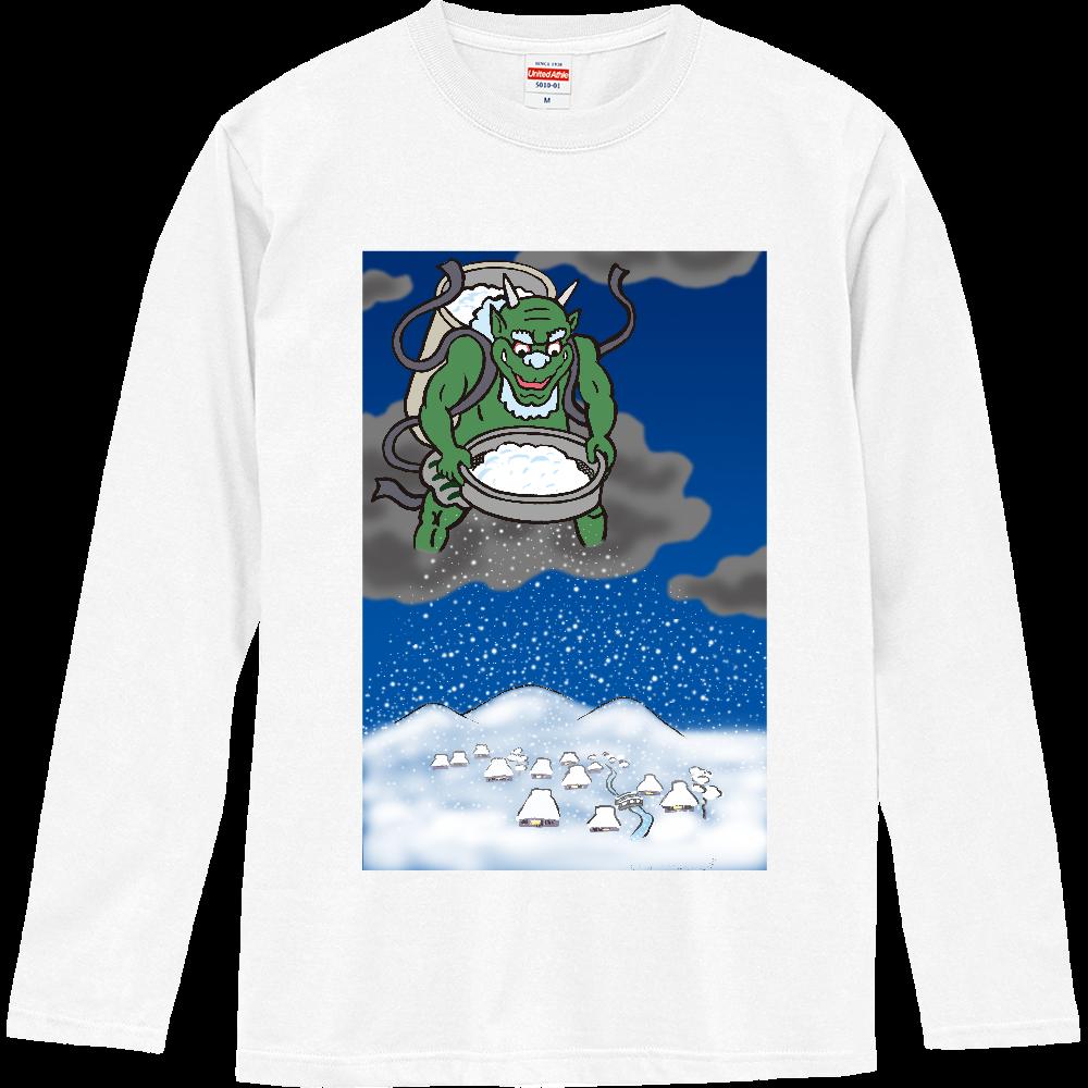 雪の神 ロングスリーブTシャツ