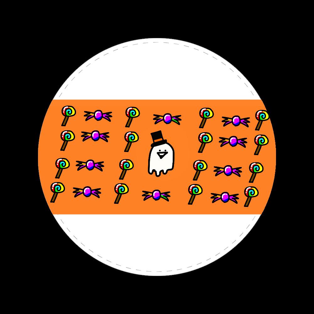 ハロウィンいっしー君 56㎜缶バッジ