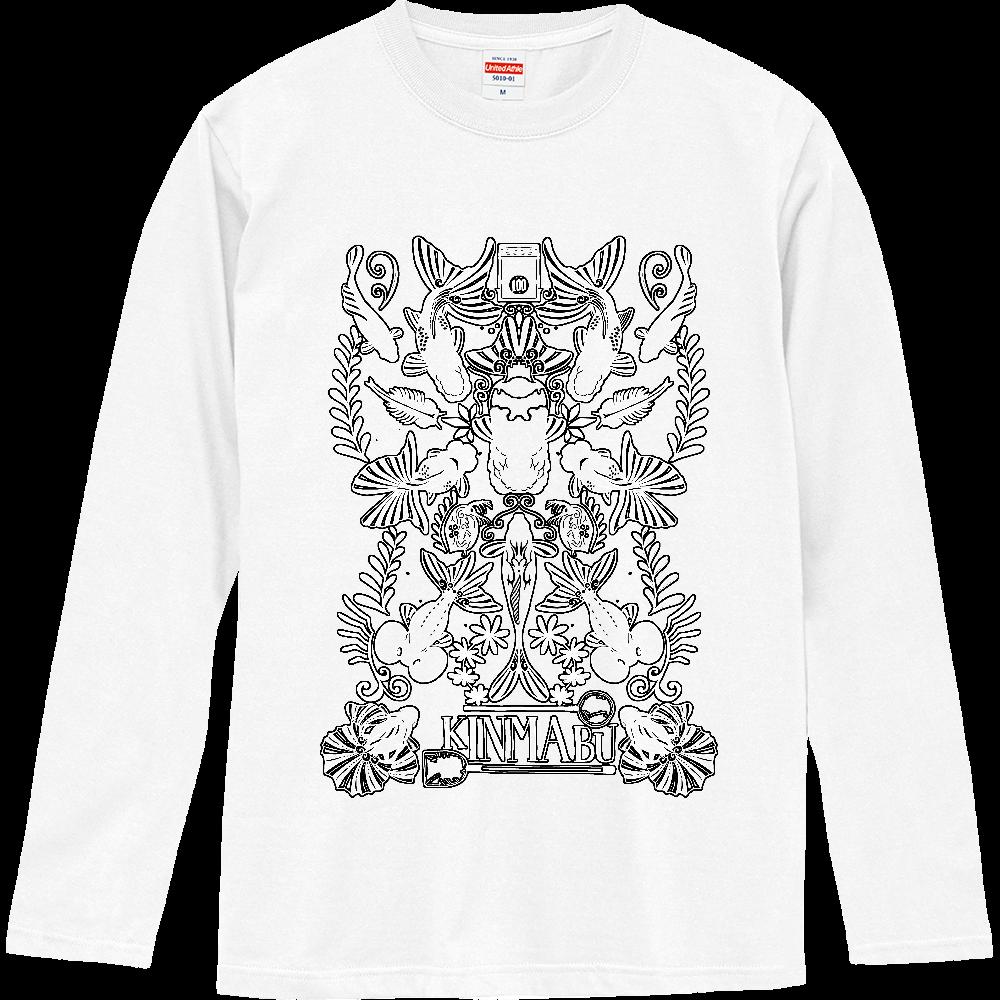 キンギョノマブタ ロングスリーブTシャツ
