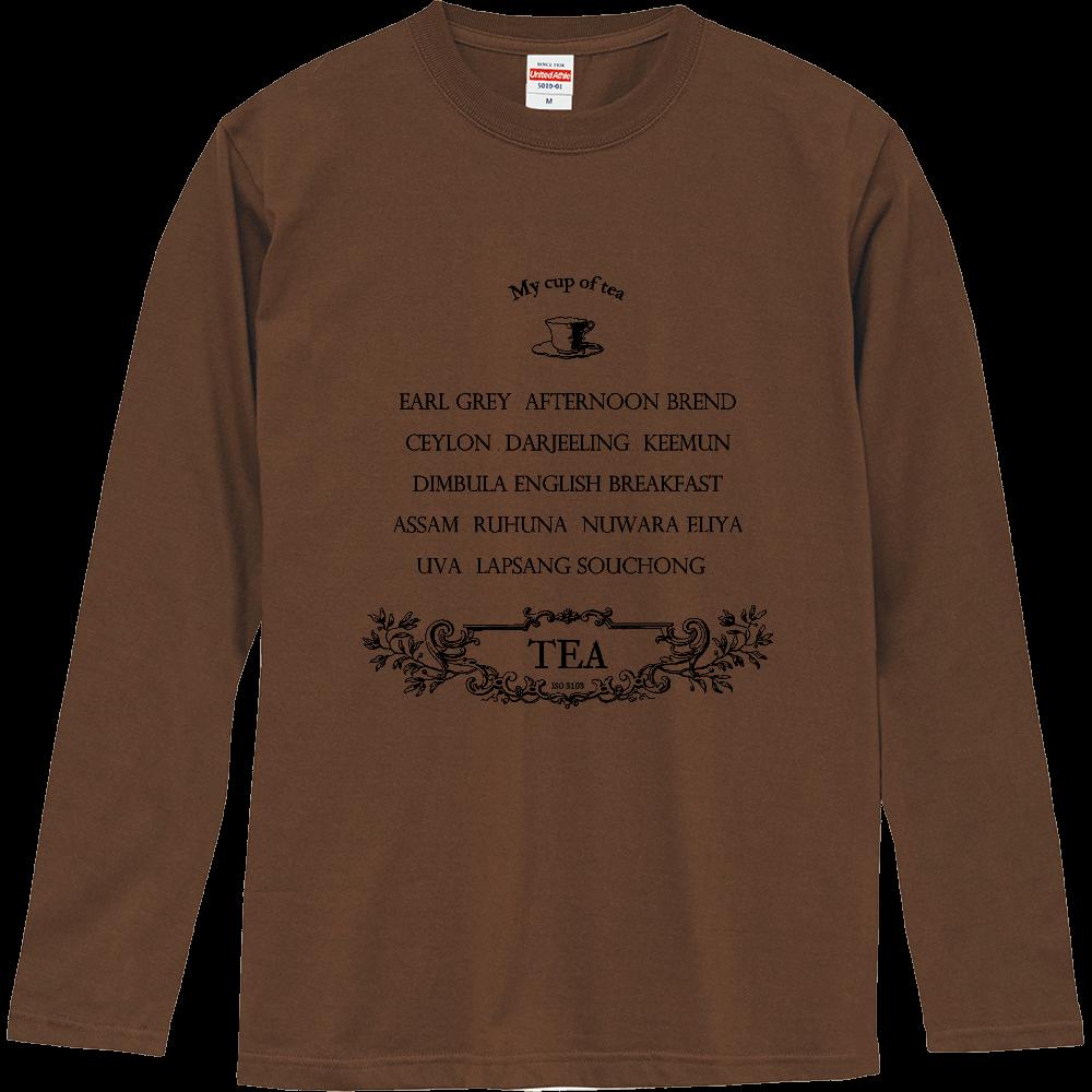 お気に入りの紅茶 ロングスリーブTシャツ