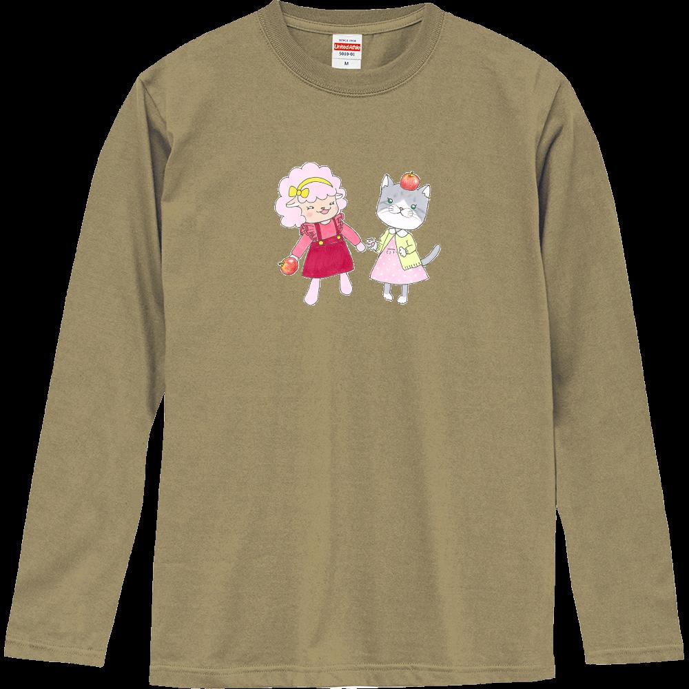 りんご♡(ロゼッタ&シャルロット) ロングスリーブTシャツ