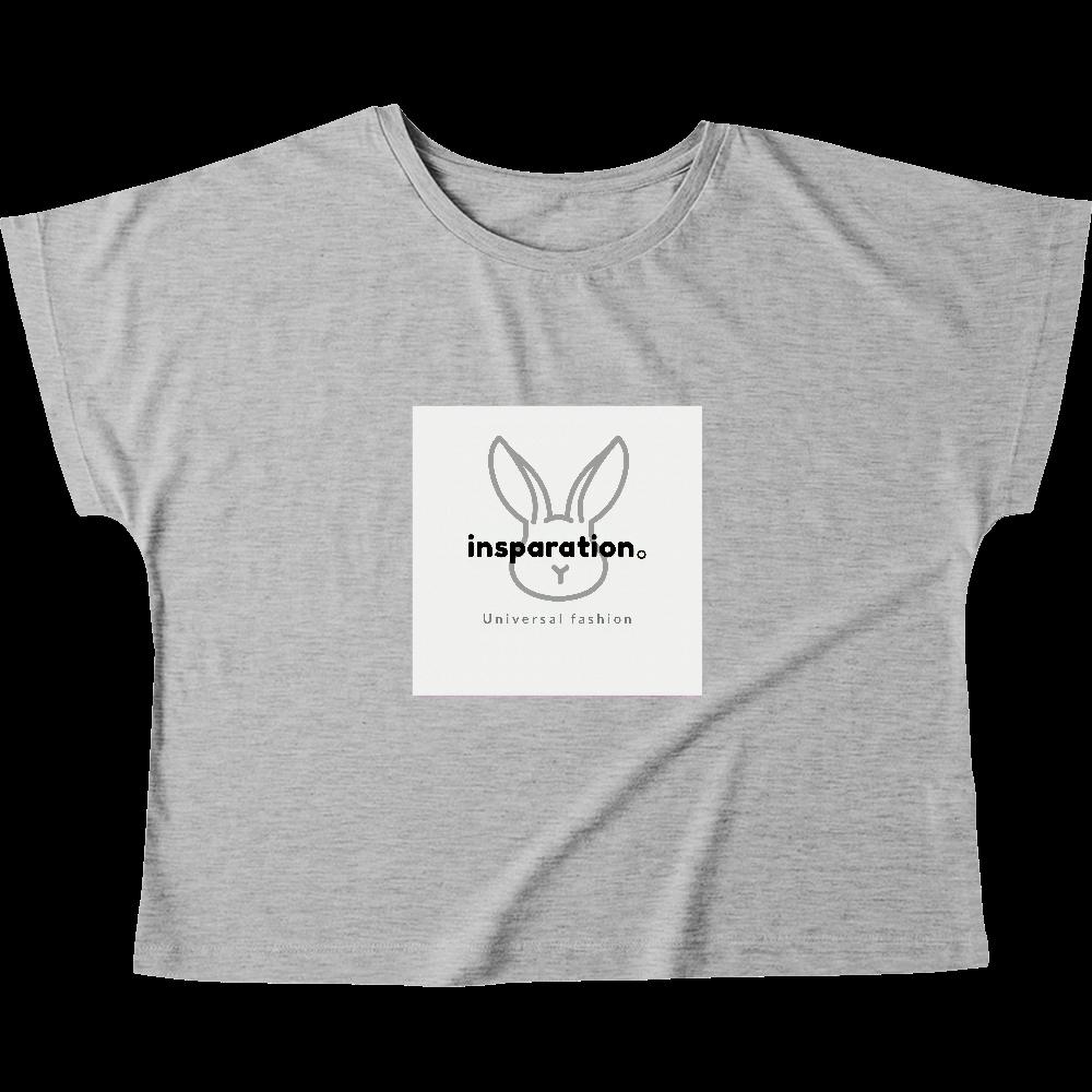 レディースTシャツ:うさたろうくん ウィメンズ ドルマン Tシャツ