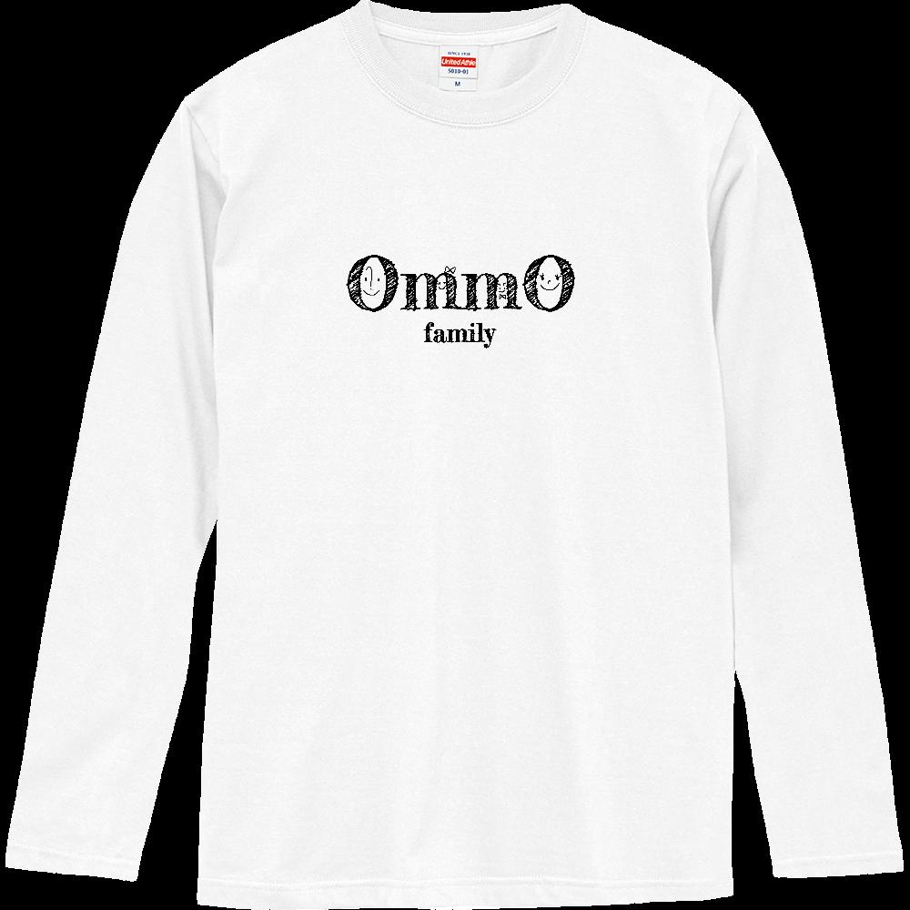 かぞく(家族) ロングスリーブTシャツ