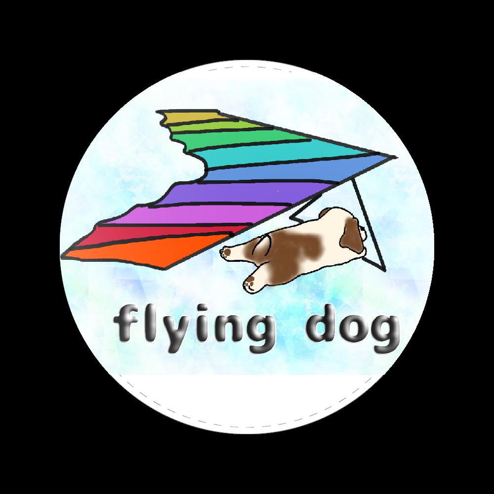 flying dog 56㎜缶バッジ