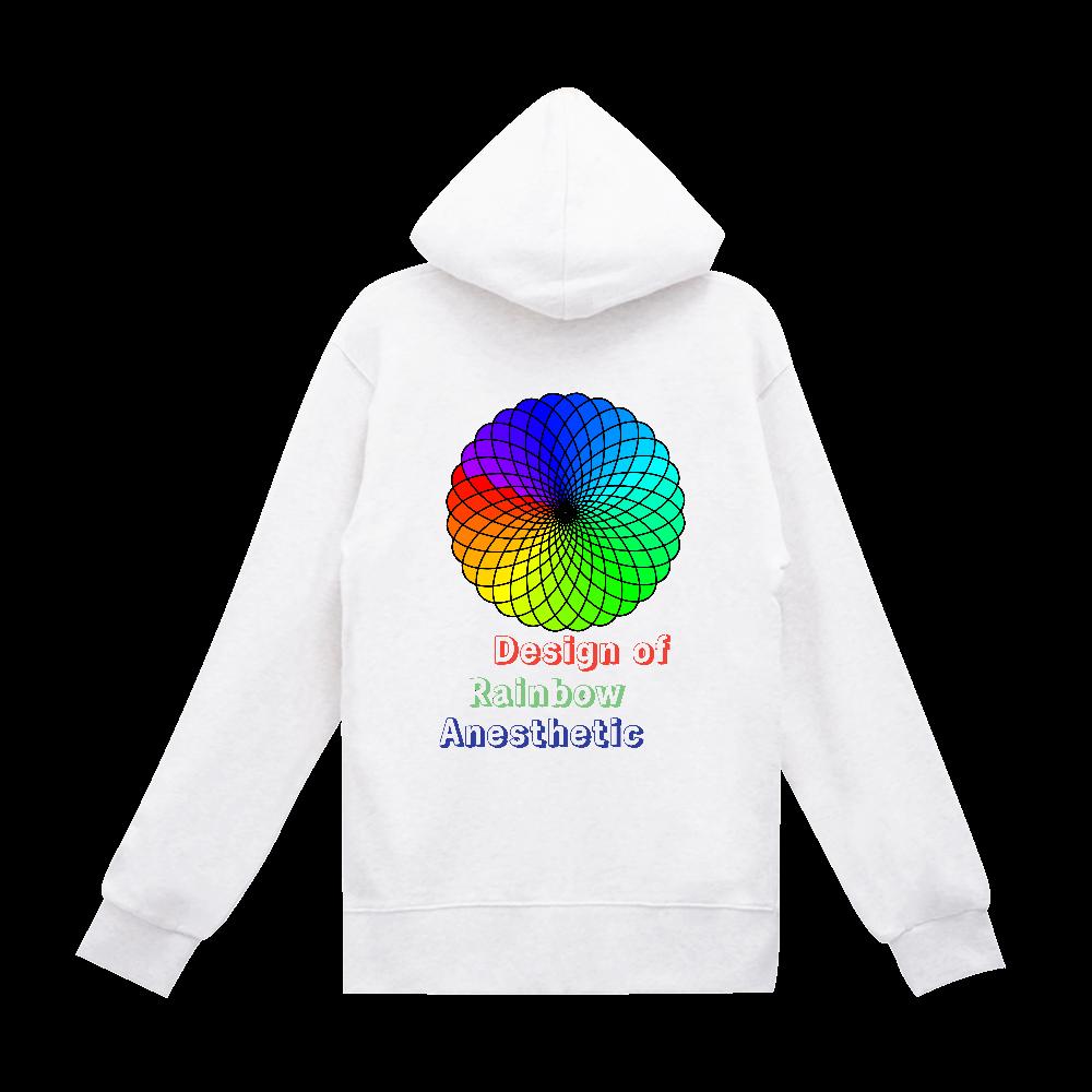 虹色デザイン スタンダードWフードプルパーカー