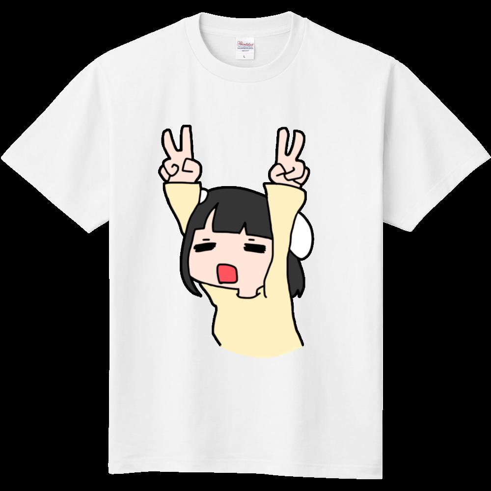 ニアさんピースいらすと 定番Tシャツ