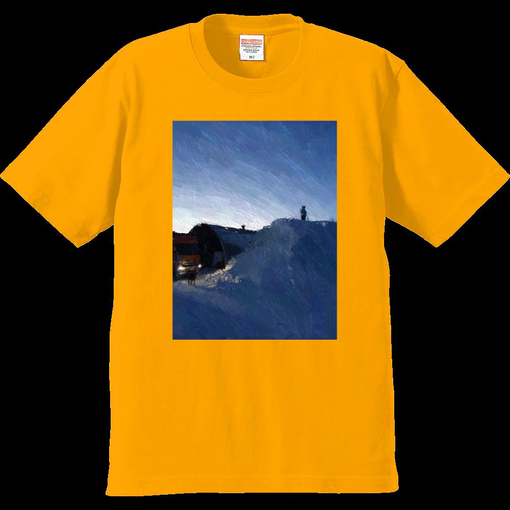 雪よ高く プレミアムTシャツ