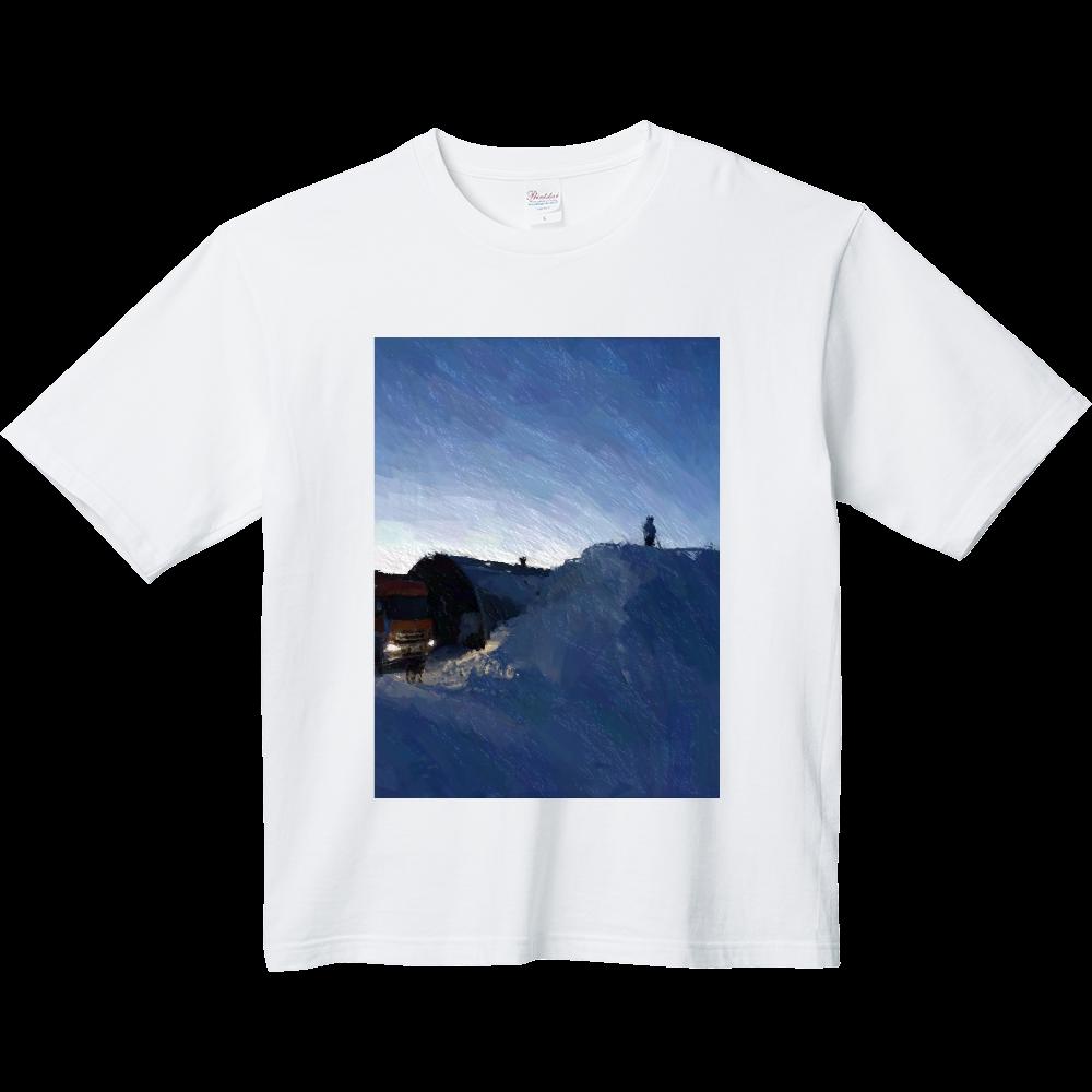 雪よ高く ヘビーウェイト ビッグシルエットTシャツ