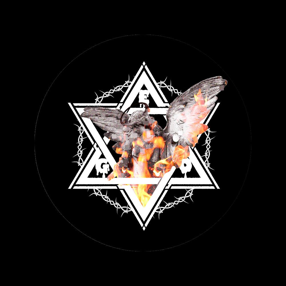 「アンジェリカ」 56㎜缶バッジ