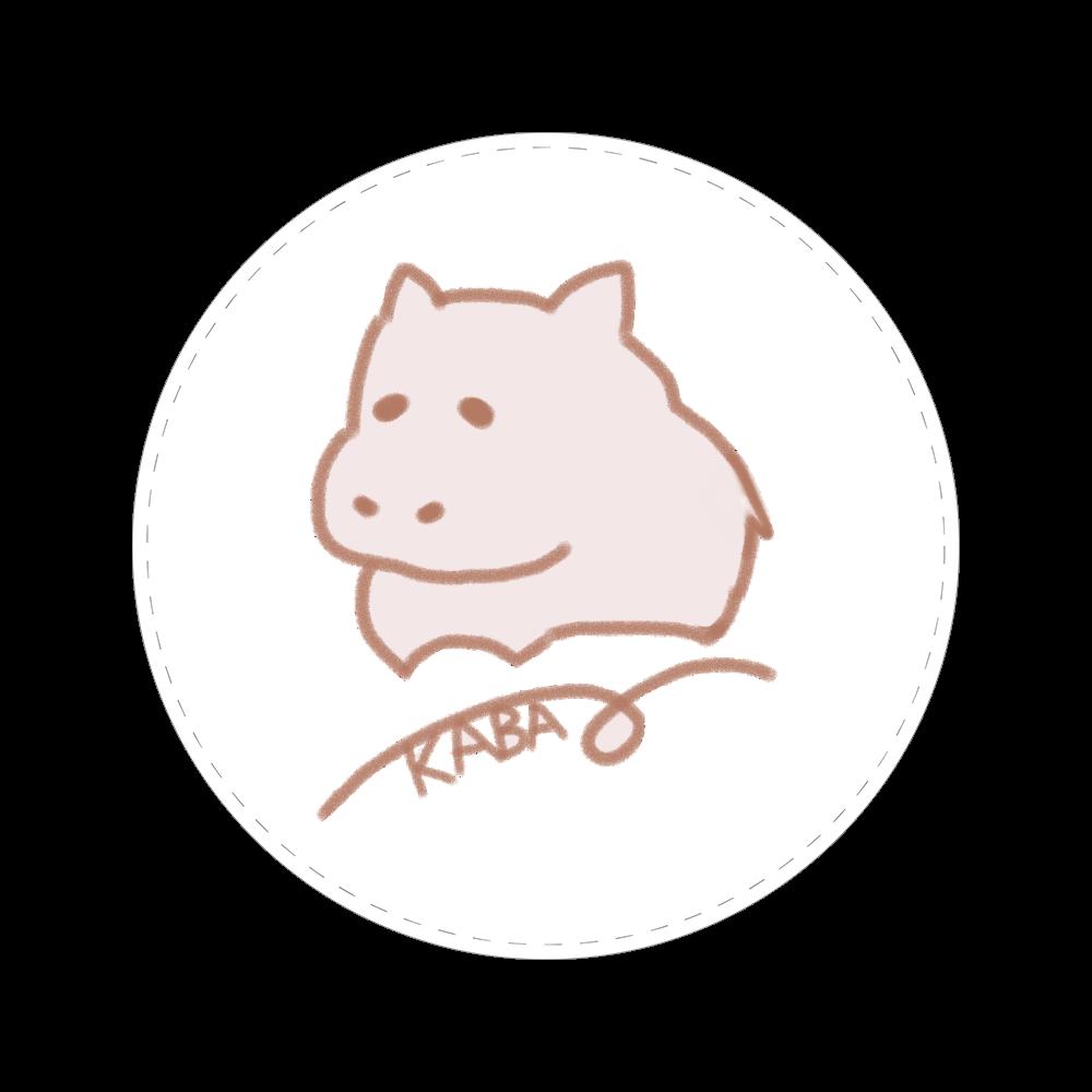 ゆるかばちゃん 56㎜缶バッジ
