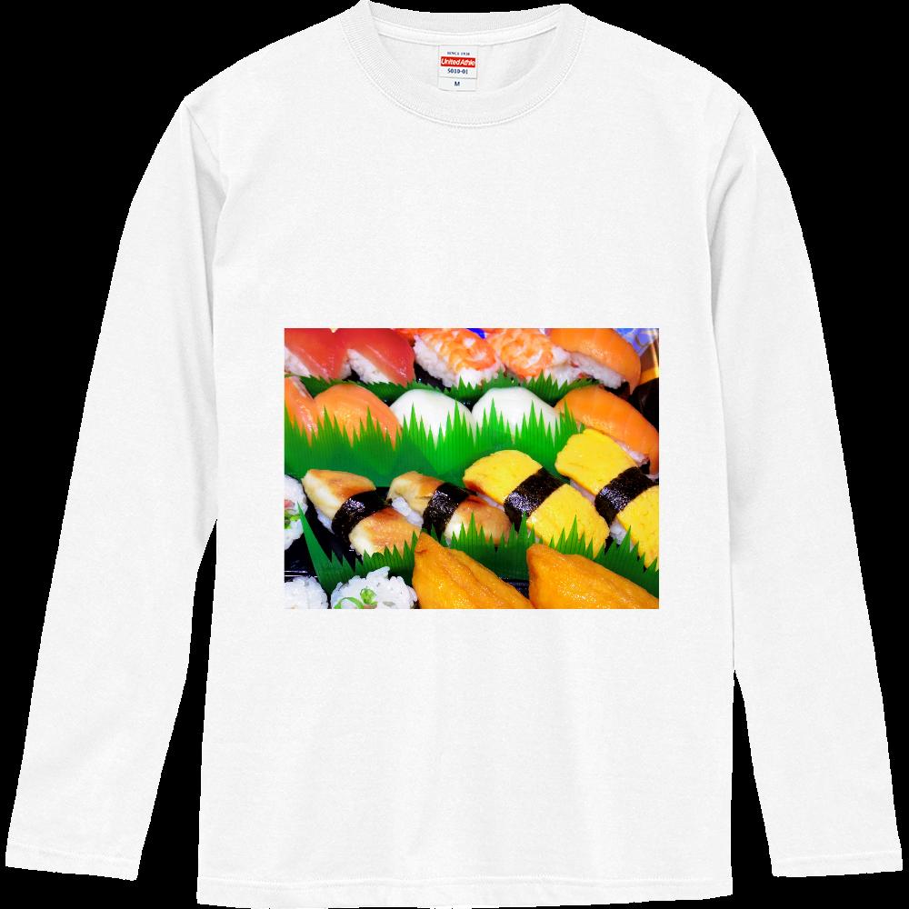 握り寿司 ロングスリーブTシャツ
