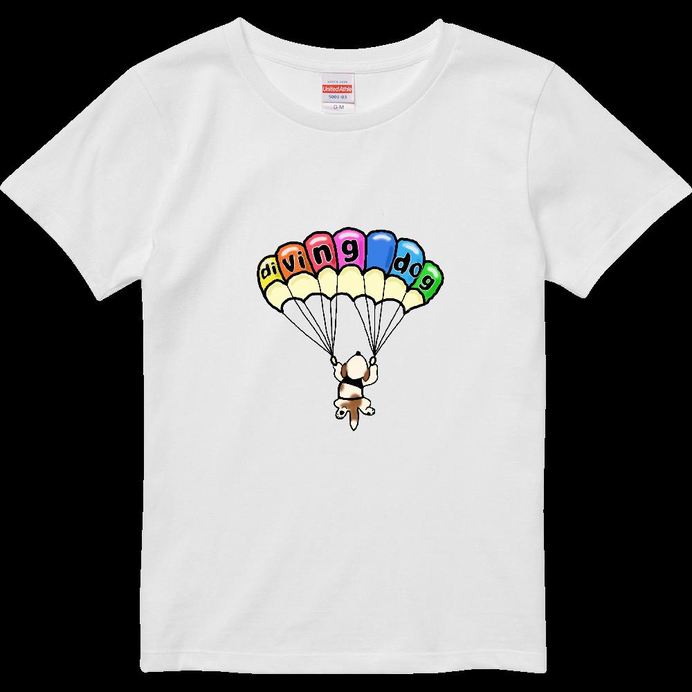 Diving dog vol3 ハイクオリティーTシャツ(ガールズ)