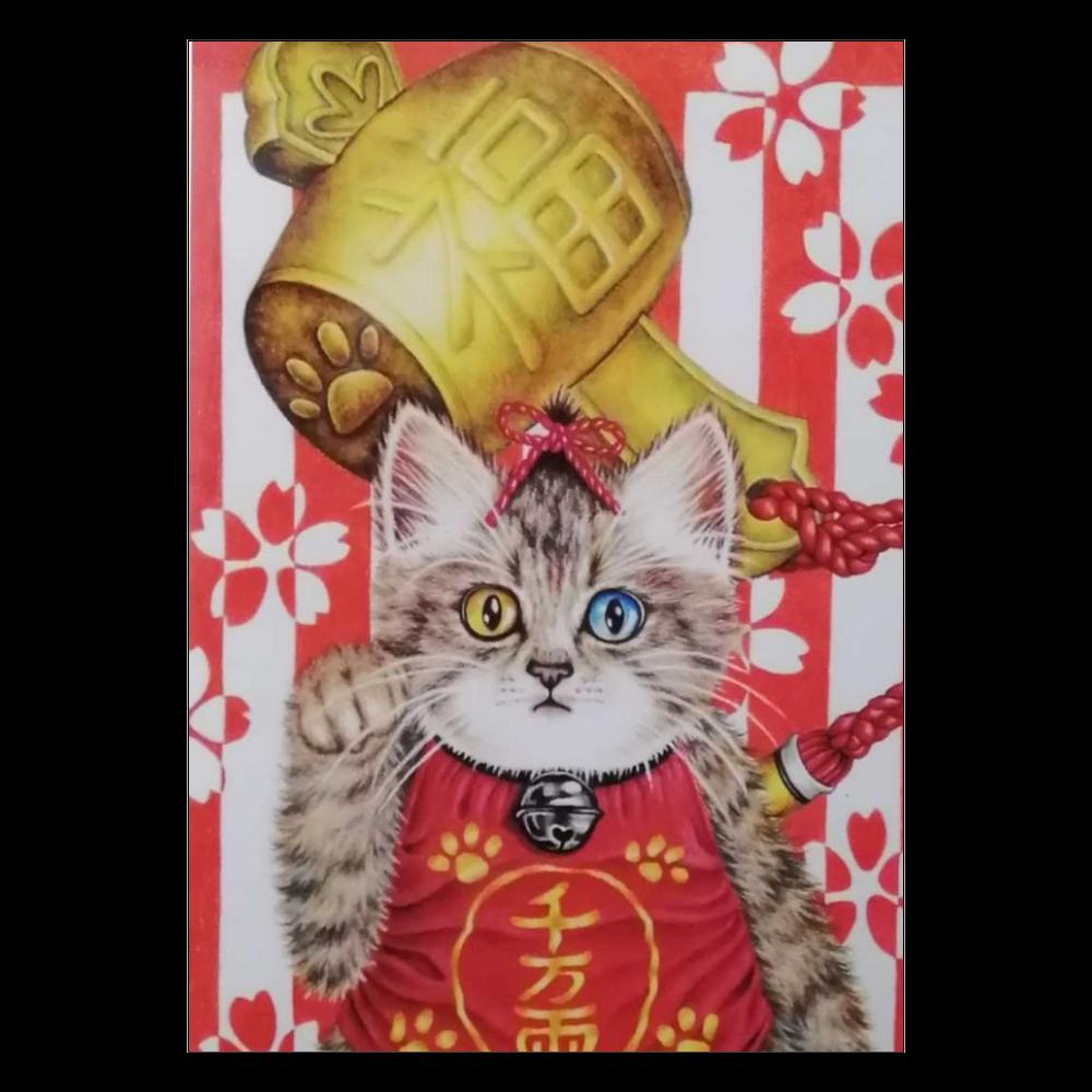 ポスター 招き猫 ポスター A2サイズ