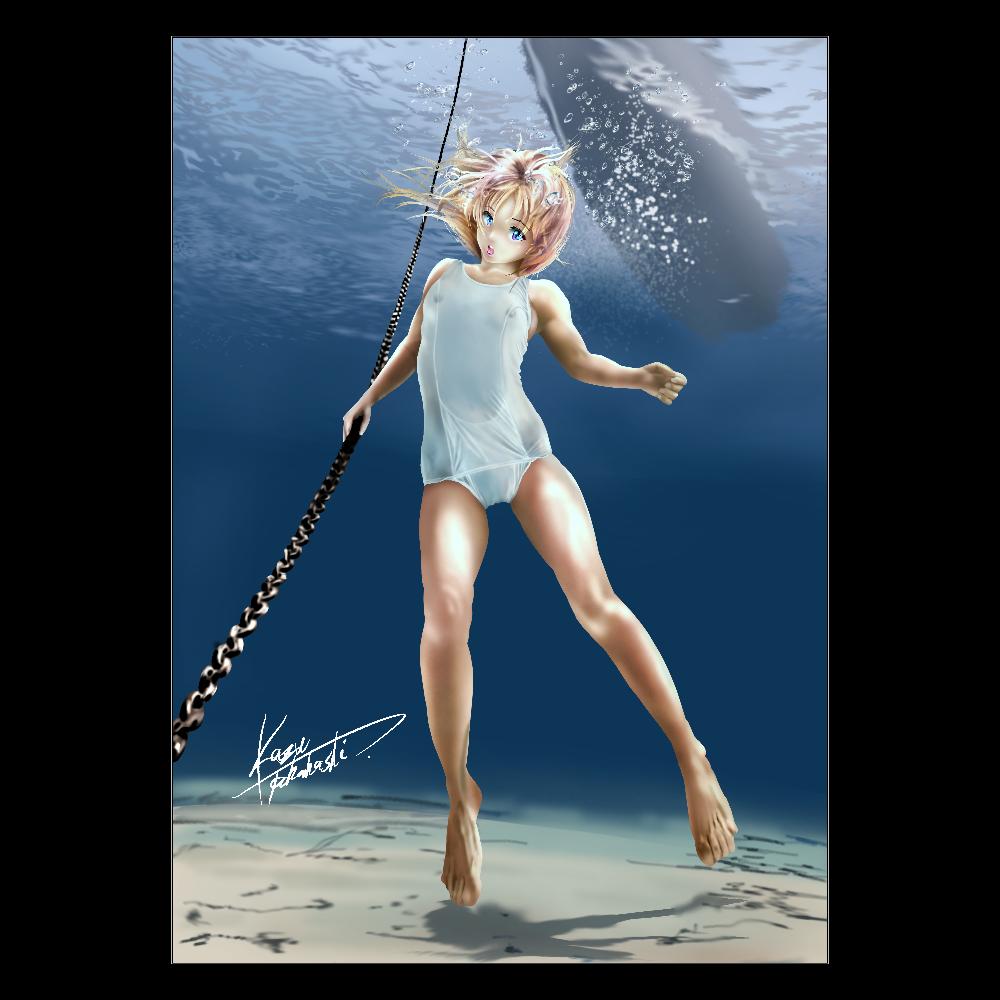 海底 ポスター A2サイズ