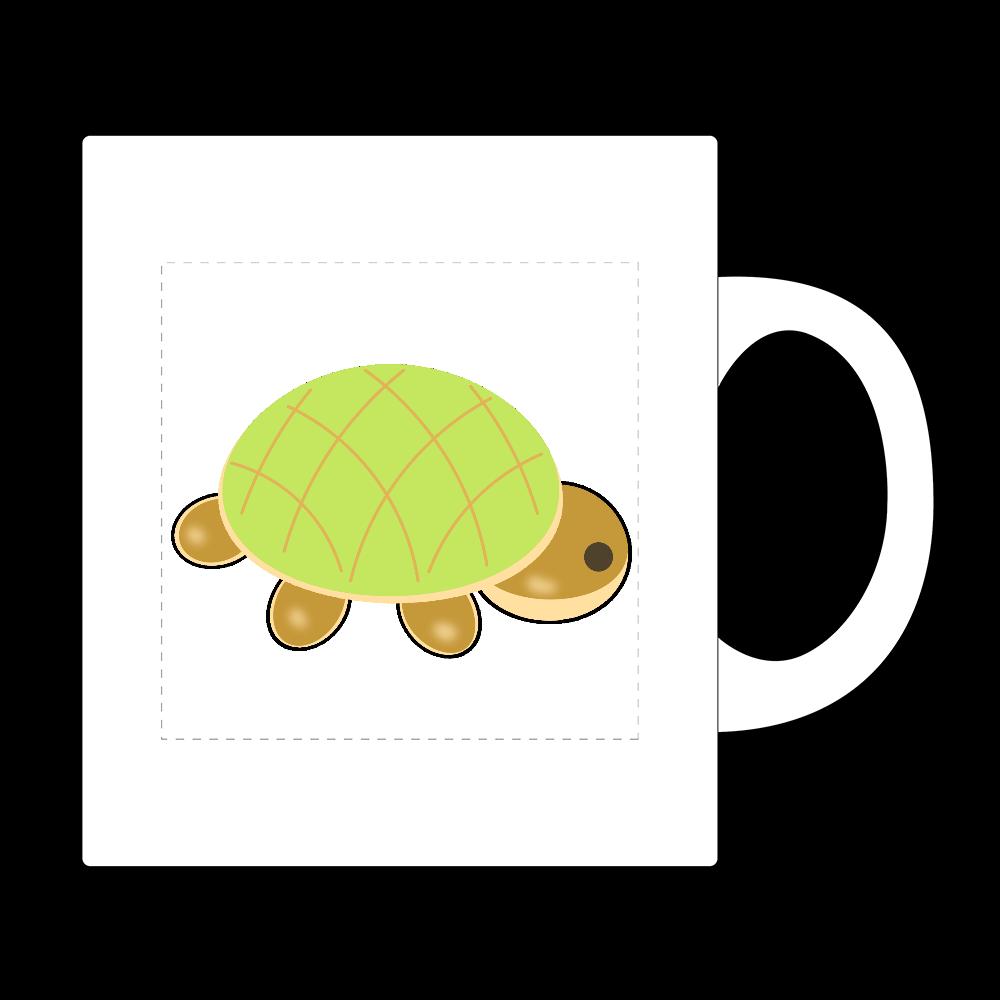 亀パン ワンポイント マグカップ