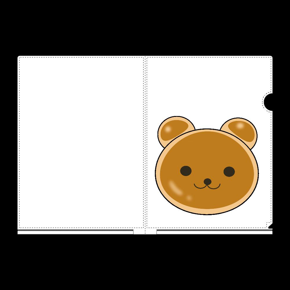 クマパン A4フルグラフィッククリアファイル