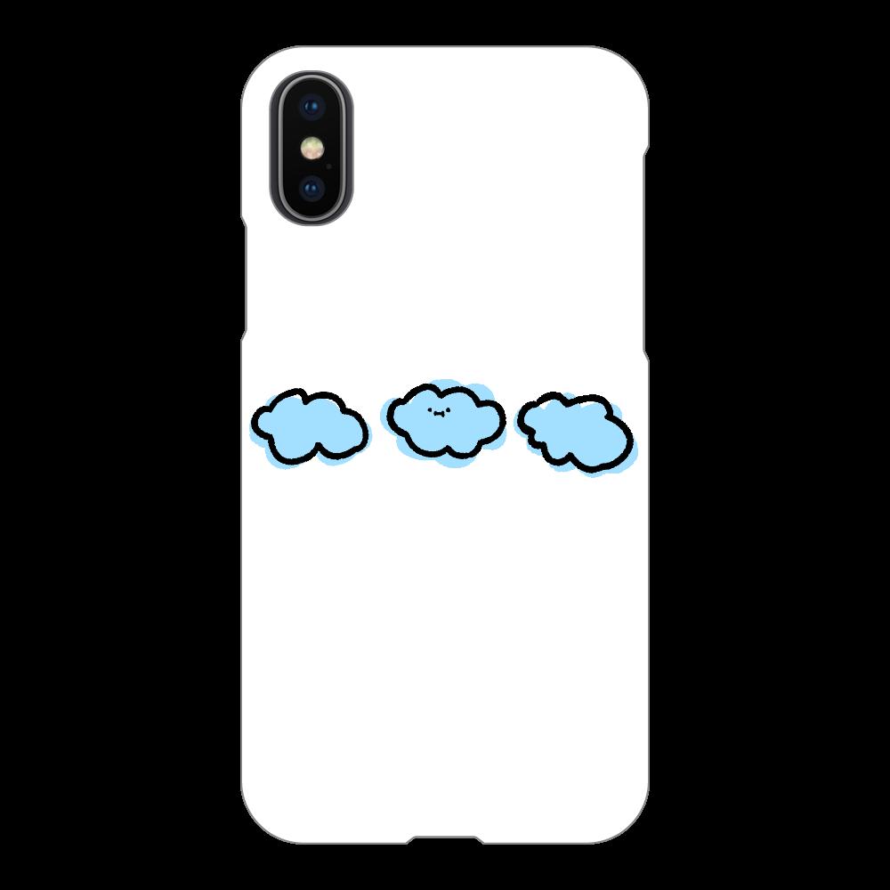 なぞだよ iPhoneX/Xs(透明)