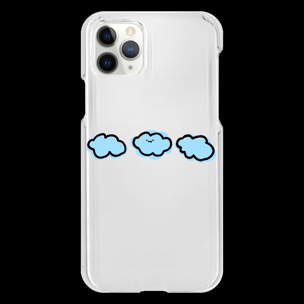 なぞだよ iPhone11 Pro(透明)