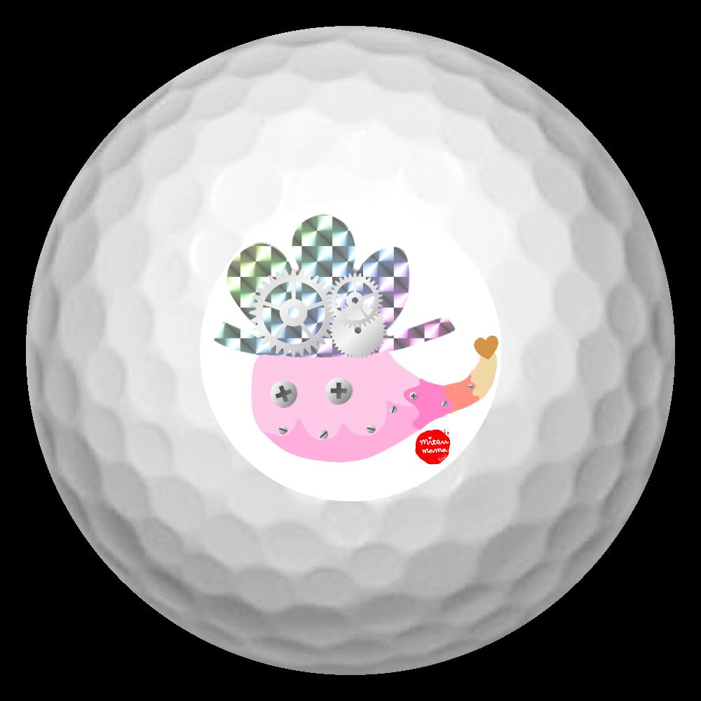 おばけちゃん。Peach ゴルフボール(3個セット)